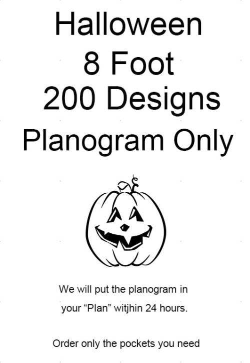 8 Foot Planogram Only